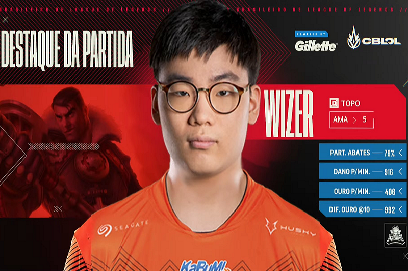 Wizer MVP do CBLoL